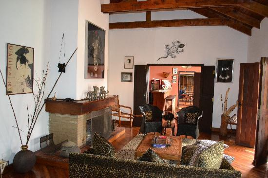 Macushla House: Lounge area