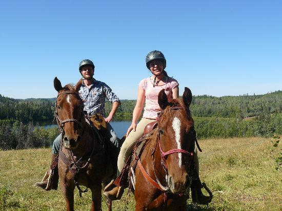 Free Rein Guest Ranch: Trail ride