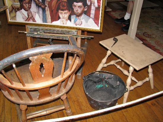 Norman Rockwell Museum: Rockwell's easel