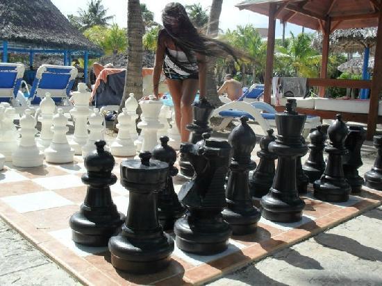 Sol Palmeras: En el tablero de ajedrez enormeeee
