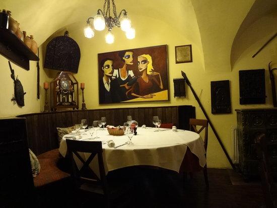 Griechenbeisl: 小部屋のひとつ