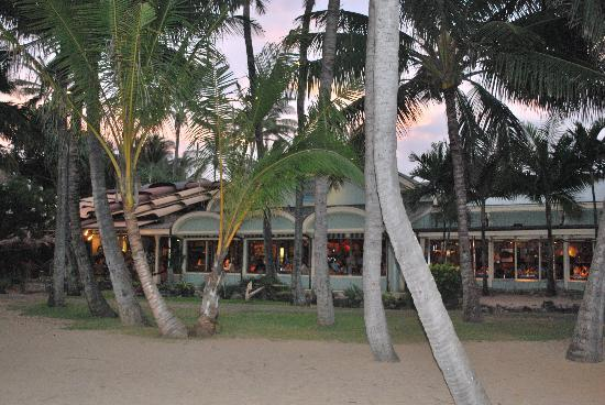 Mama's Fish House: Ocean front view