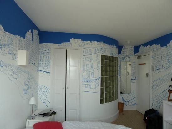 Artist Residence Brighton: the Andy McLynn room