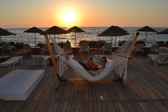 Charisma De Luxe Hotel: Lovely cosy hammock