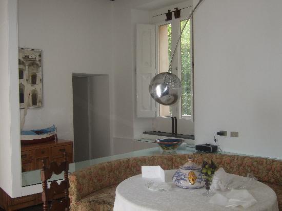 Hotel Palazzo Murat: Dining area