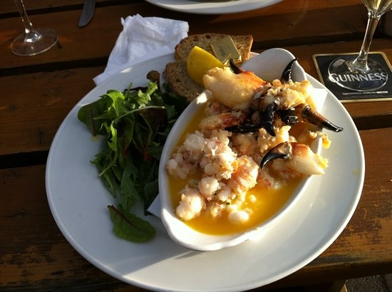 Skerries, İrlanda: shrimps and crab