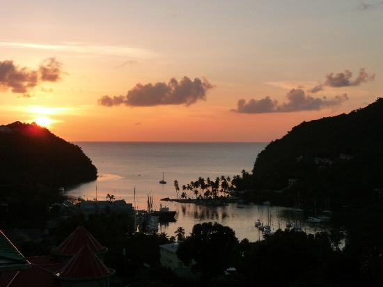 Villa Pomme d'Amour : Marigot Bay....the best spot in St Lucia
