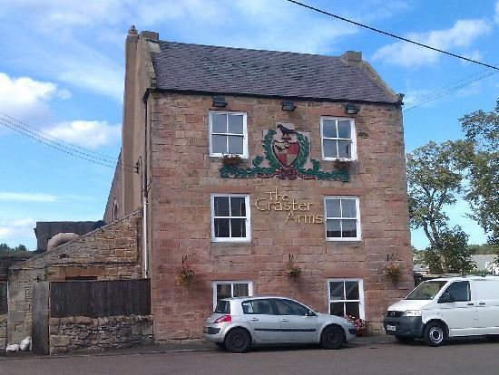 The Craster Arms Restaurant: the pub