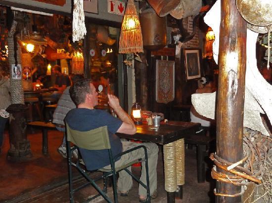 Joe's Beerhouse: Our table