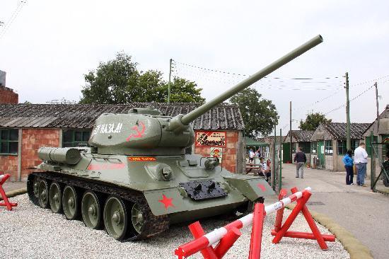 Eden Camp: Russian T32 Tank 2 World War