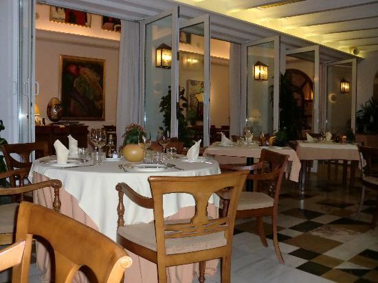 Hotel Villa Guadalupe: El comedor