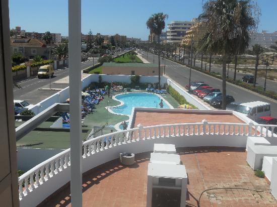 Hotel ATH Roquetas de Mar: desde mi habitacion