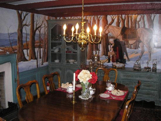 Morgan Samuels Inn: Where breakfast is served