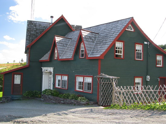 One of several buildings that make up the inn