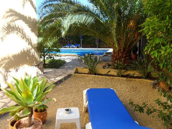 Hotel Montemar: Shady area to relax