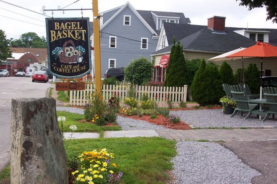 Bagel Basket: When you see the sign stop in