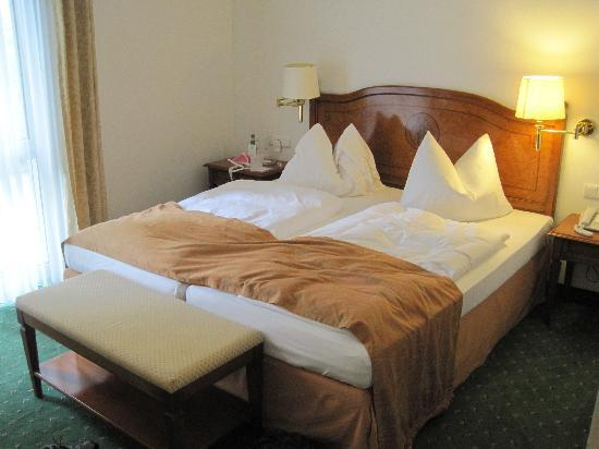Hotel Prinzregent : Great beds.