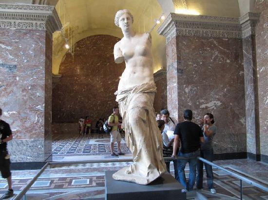 พิพิธภัณฑ์ลูฟวร์: Venus de Milo