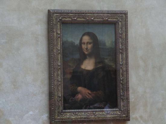 พิพิธภัณฑ์ลูฟวร์: Mona Lisa