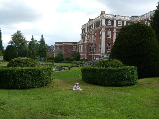 Swinfen Hall Hotel: Our daughter in the grounds :-)