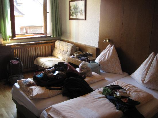 Tautermann: The beds were small but comfortable.