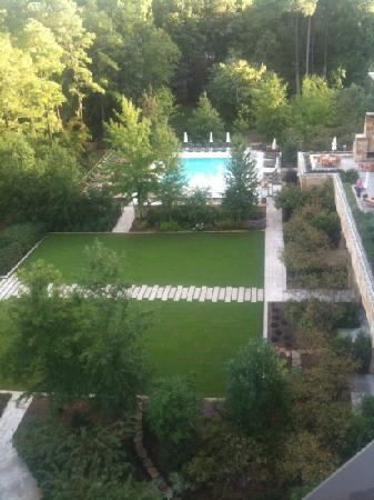 The Umstead Hotel and Spa: view from the Presidential Suite