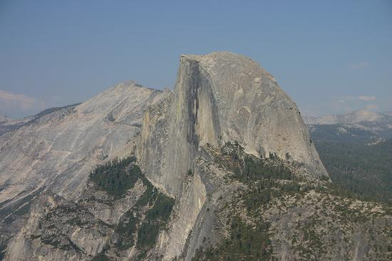 Half Dome and Clouds' Rest from Glacier Point