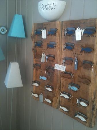 Hôtel La Désirade : le chiavi delle camere