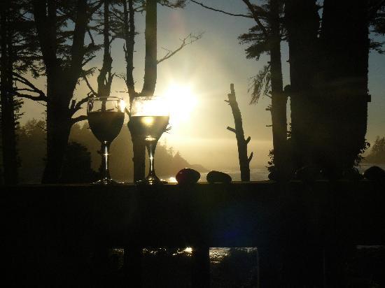 The Cabins at Terrace Beach: Sun set