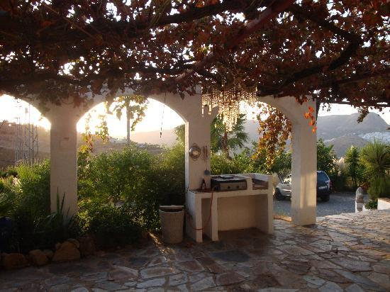 Cortijo Vista Alora: View from the terrace of Daffodil Cottage