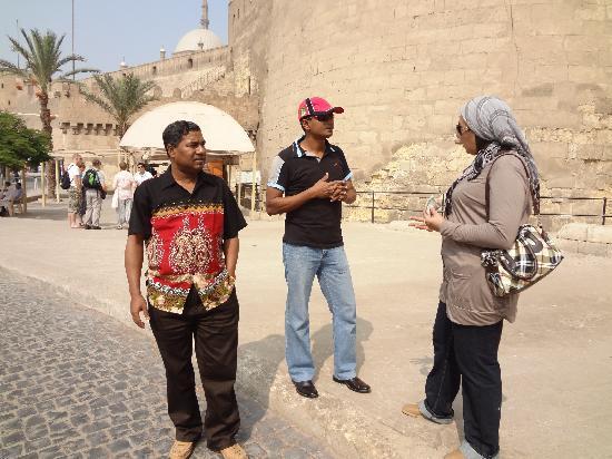 Hadeda Travel - Day Tours: At citadel of Salahuddin