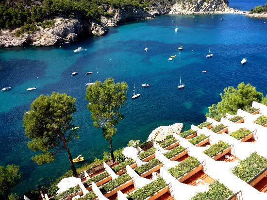Hotel Ole Galeon Ibiza: Lovely view from Galeon bedrooms