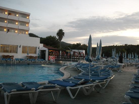Hotel Presidente: pool area
