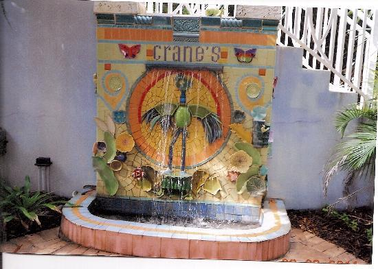 Crane's Beach House Boutique Hotel & Luxury Villas: Crane Fountain