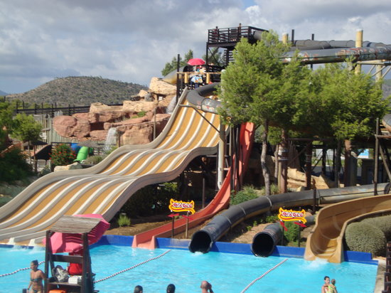 Western Water Park: some of the rides