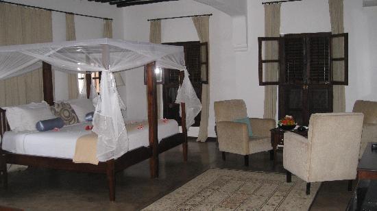 Kisiwa House: our room