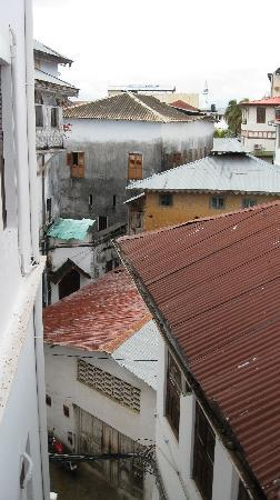 Kisiwa House: view from our room of stone town