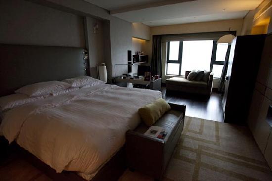 โรงแรมฮิลตัน ปักกิ่ง แวงฟูจิง: Deluxe room