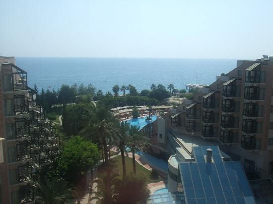 Limak Limra Hotel & Resort: view from top floor