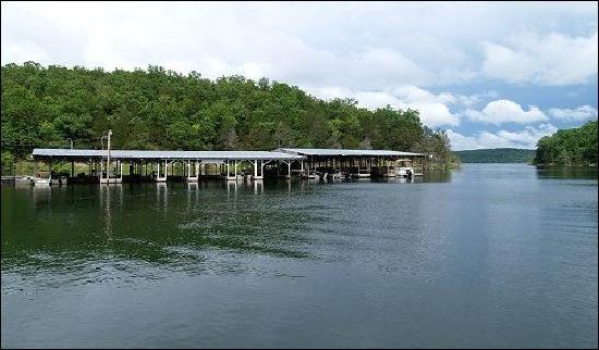 Mountain Home, Арканзас: Our private boat dock