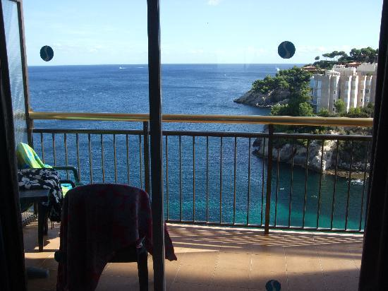 SENTIDO Cala Vinas: View from our room