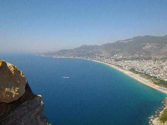 Alanya Kalesi (Castle): view from top