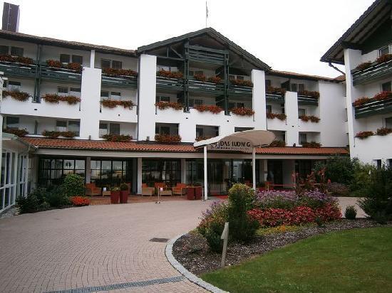 """Hotel """"Das Ludwig"""": Eingangsbereich"""