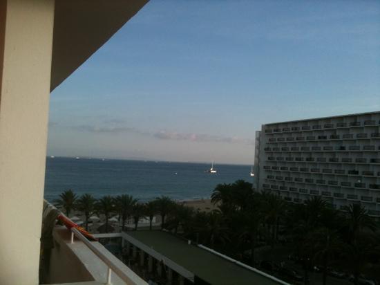 Ushuaia Ibiza Beach Hotel: Balcony view