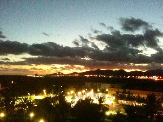 Ushuaia Ibiza Beach Hotel: Sunset from bacony