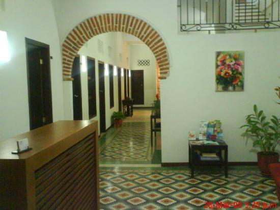 Hotel Portal de San Diego: Recepcion