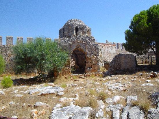 Alanya Kalesi (Castle): inside castle