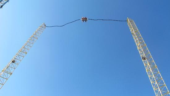 Zero Gravity Thrill Amusement Park: Sky coaster, Dallas Zero Gravity