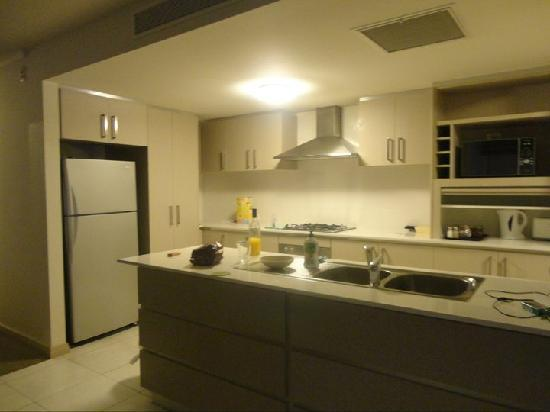Verandah Apartments Perth: The kitchen, i would love to cook in that kitchen everyday