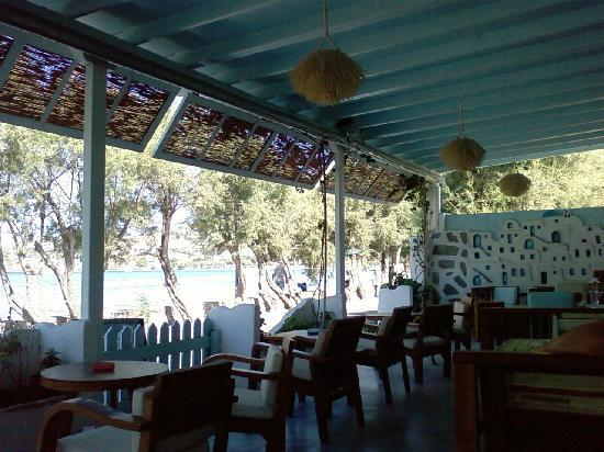 Hotel Paros: beautiful cafe for breakfast